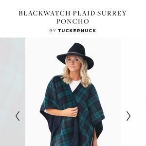 Poncho/ Cape from Tuckernuck